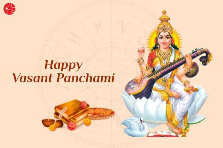 Saraswati Puja on Vasant Panchami