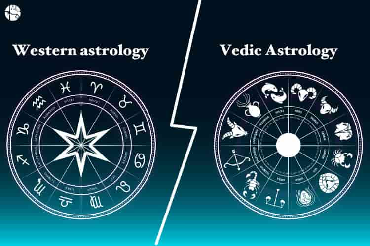 vedic and western astrology signs