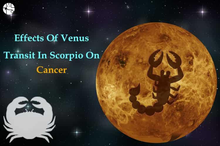Venus transit in Scorpio