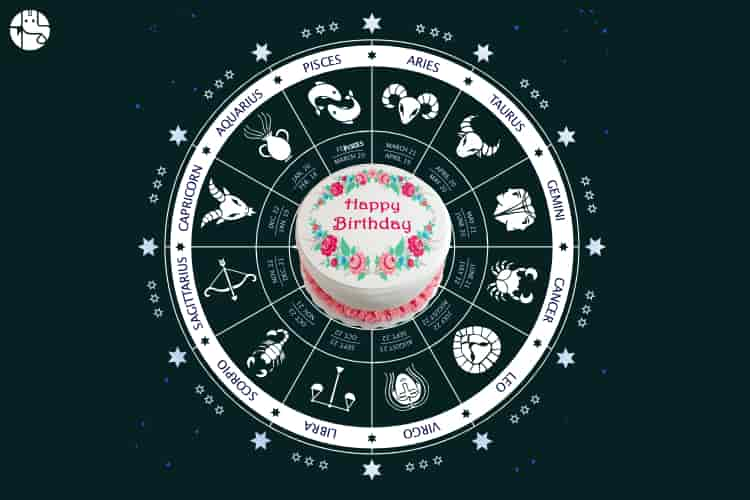 Cake Zodiac Sign Wise