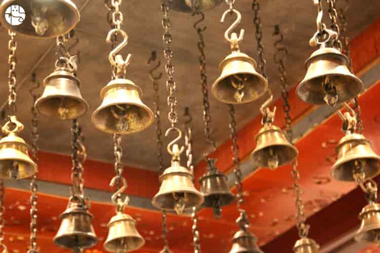hindu temple bell ringing sound