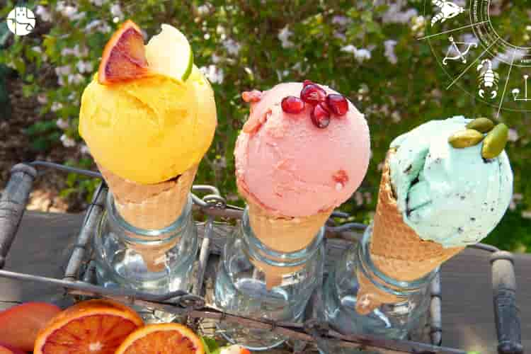 Ice cream according to zodiac sign, ice cream astrology