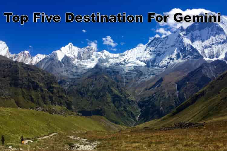 best travel destination for gemini