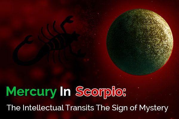 Mercury Enters Scorpio