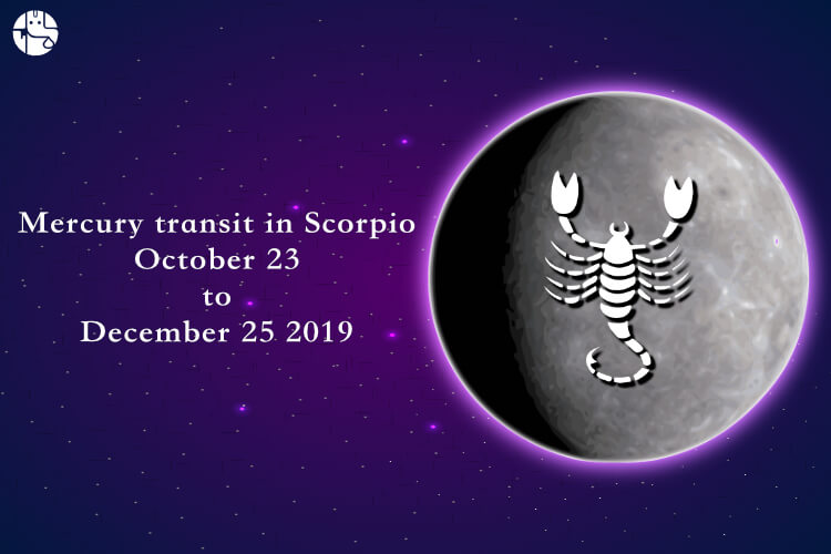 mercury transit in scorpio