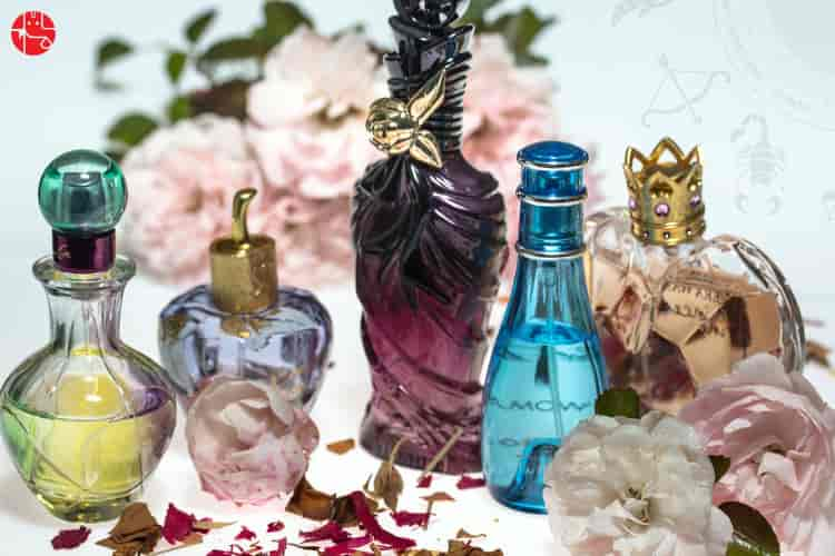 perfume astrology, perfume according to zodiac sign