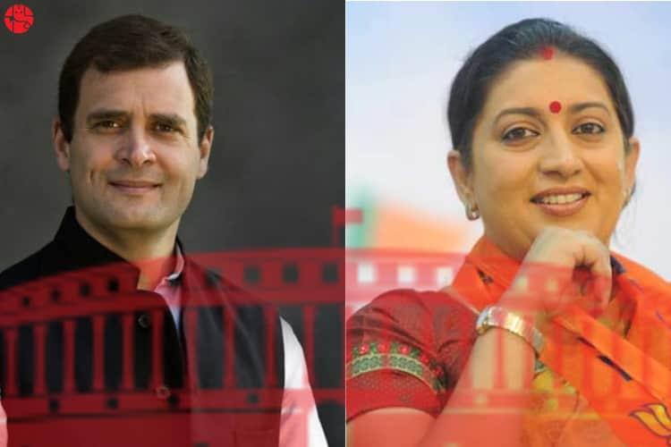 Rahul Gandhi Vs Smriti Irani Lok Sabha Election 2019