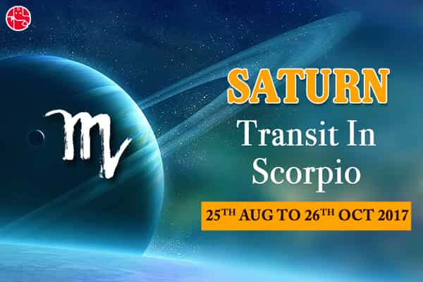 Saturn Transit In Scorpio