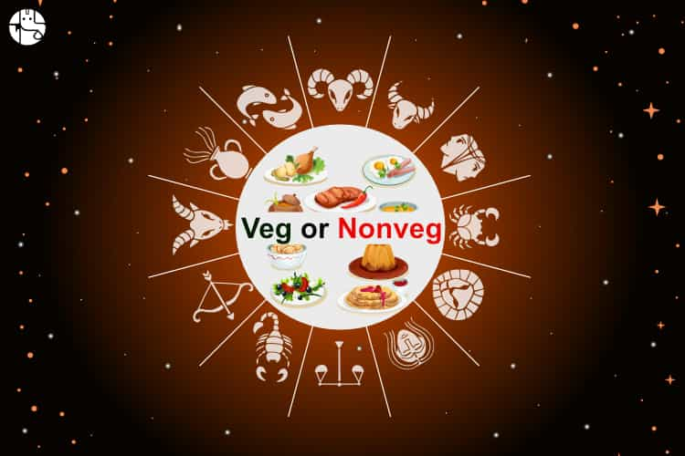 eating non veg food in astrology