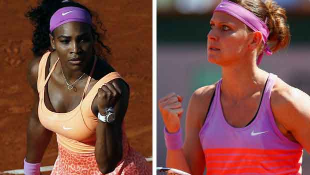 Serena Williams will battle it out against Lucie Safarova in the Women's Finals match for 2015 French Open Roland Garros Tennis Tournament.