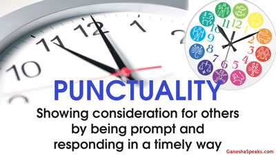 Zodiac Signs and Punctuality