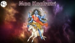 Navratri Seventh Day: Worship Maa Kalratri