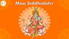 Navratri Ninth Day: Worship Maa Siddhidatri