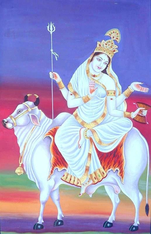 Maa Shailputri, GaneshaSpeaks.com