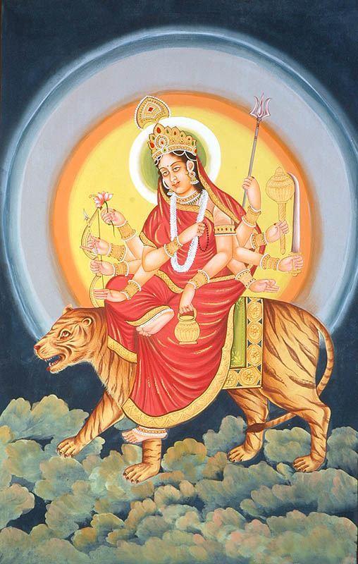 Maa Chandraghanta, GaneshaSpeaks.com