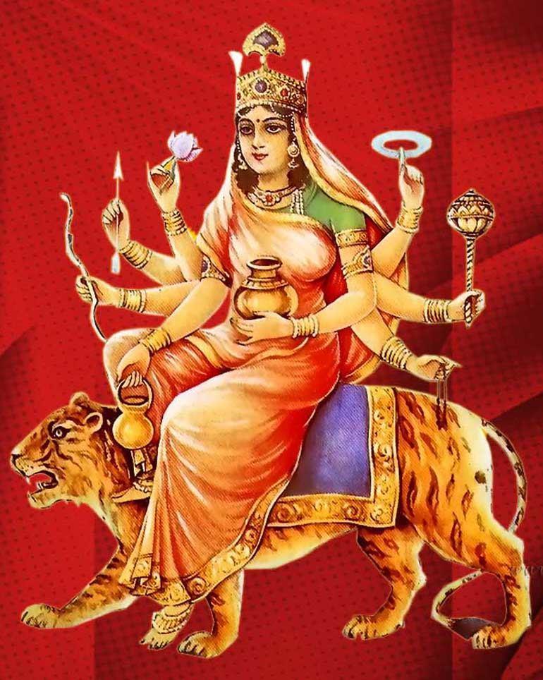 Maa Kushmanda, GaneshaSpeaks.com