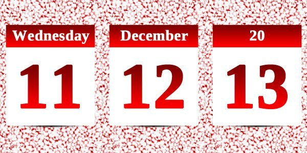 11/12/13 – A once-in-a-century date!