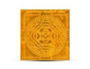 Parvati Swaymvar Yantra Golden Plated