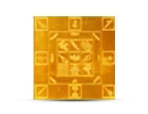 Vastu Yantra Golden Plated